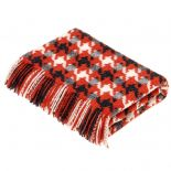 Bronte by Moon Merino Lambswool Throw Houndstooth